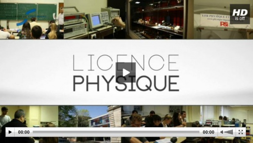 Licence Physique - HTML - 47.7 ko